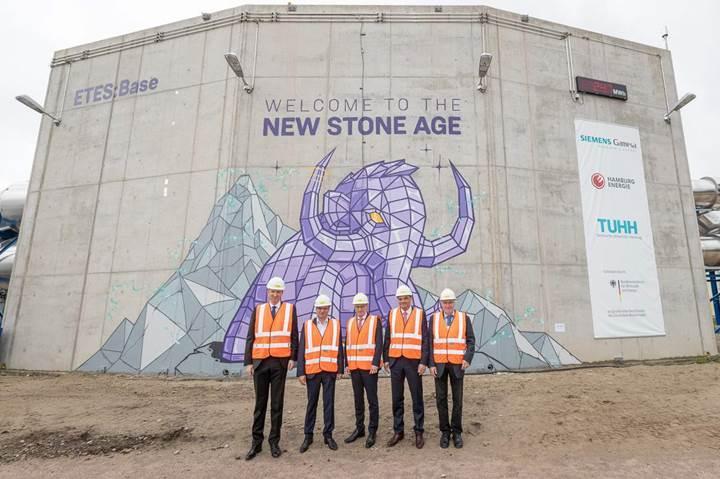 Siemens Gamesa'dan volkanik kayaların kullanıldığı enerji depolama merkezi