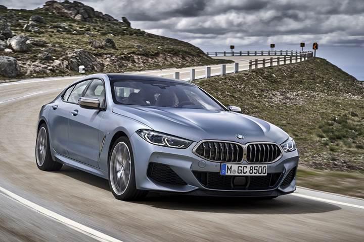 Yeni BMW 8 Serisi Gran Coupe tanıtıldı