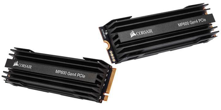Corsair MP600 PCIe Gen 4 M.2 SSD fiyatı belli oldu
