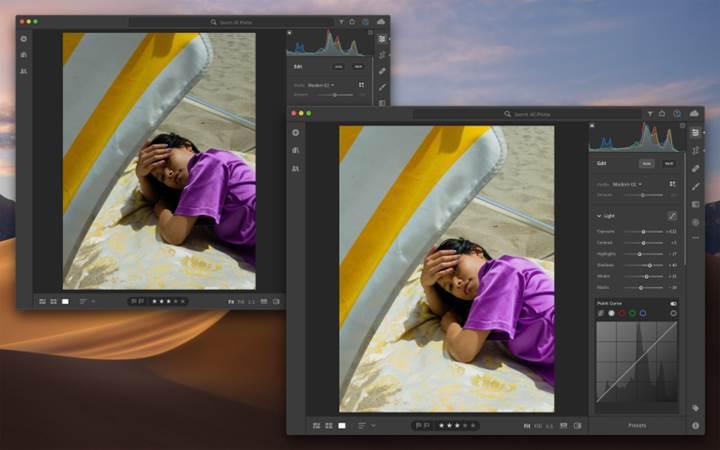 Adobe Lightroom sonunda Mac App Store'a geldi