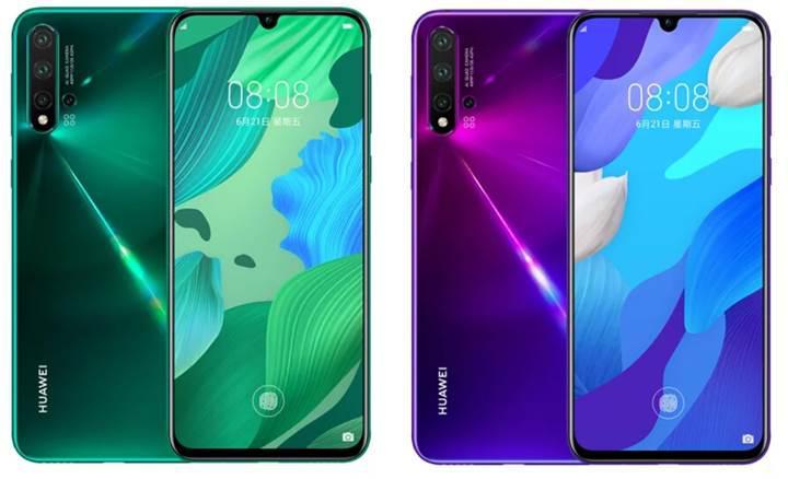 Kirin 810 işlemcili Huawei Nova 5 duyuruldu