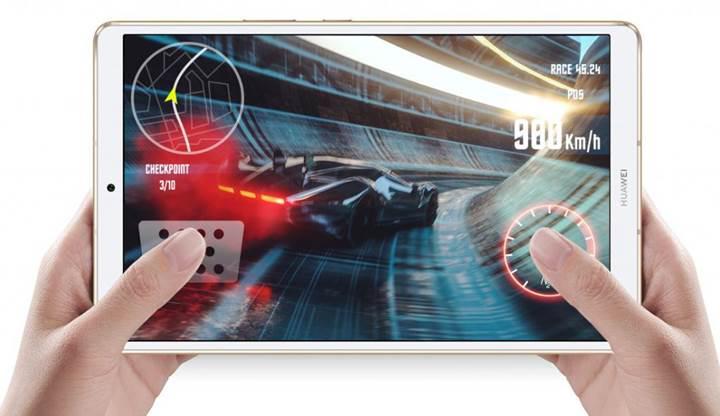 Huawei amiral gemisi tablet modeli Mediapad M6'yı tanıttı