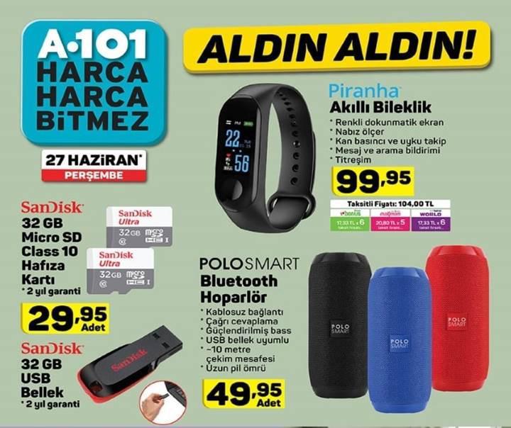 Haftaya A101 marketlerde Alcatel 1S var