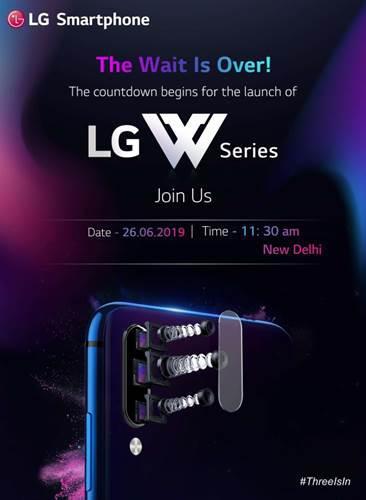 LG W10, 26 Haziran tarihinde Hindistan'da tanıtılacak