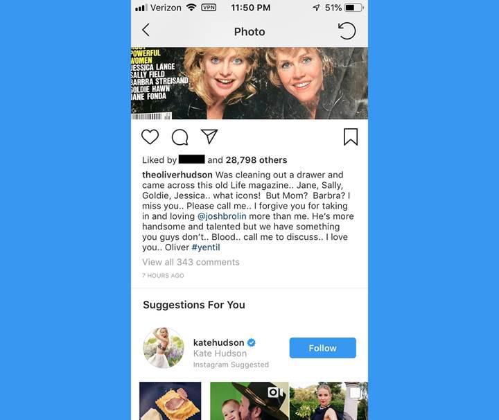 Instagram, DM bölümünde kullanıcılara hesap tavsiye edecek