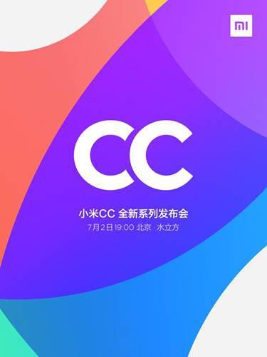 Xiaomi Mi CC serisinin tanıtım tarihi resmen açıklandı