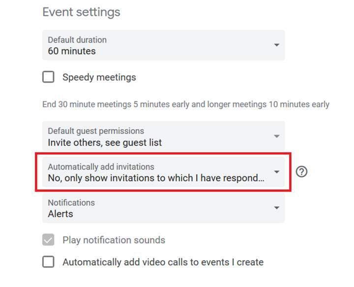 Google Takvim üzerinden dolandırıcılık yöntemi