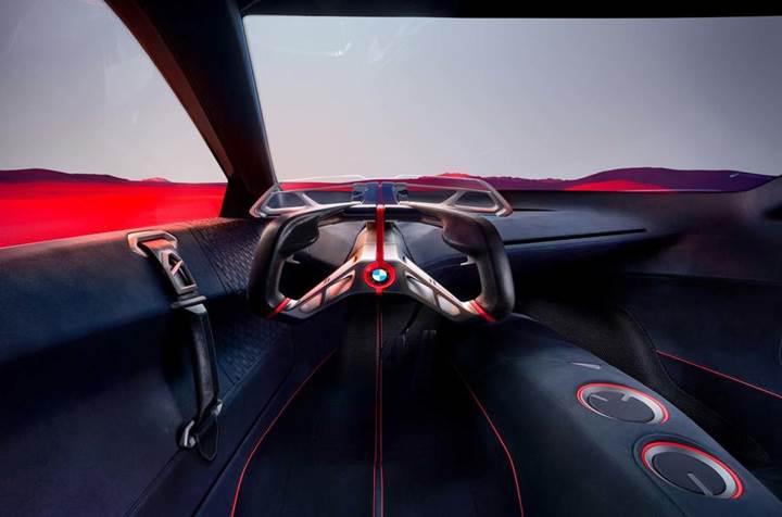 600 beygirlik hibrit motora sahip BMW Vision M Next konsepti tanıtıldı