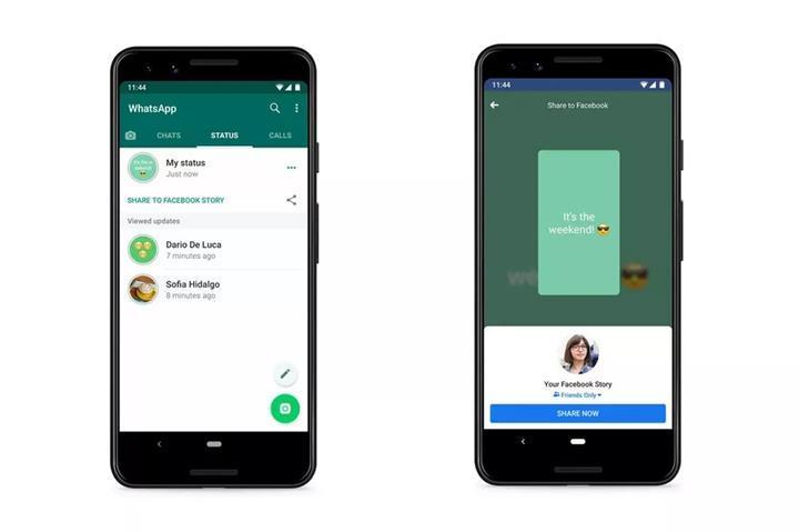 WhatsApp hikayenizi diğer uygulamalar ile paylaşabileceksiniz