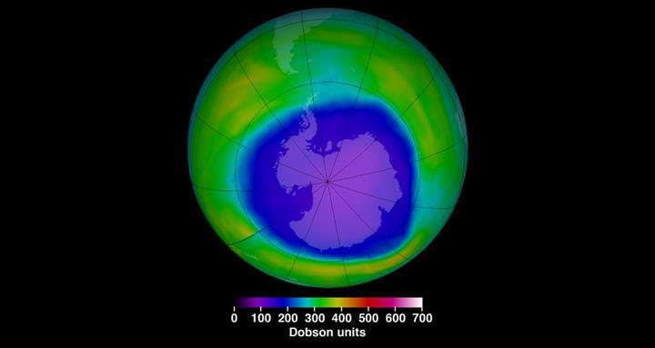 Ozon tabakasındaki delik, Güney yarımkürenin iklimini değiştiriyor