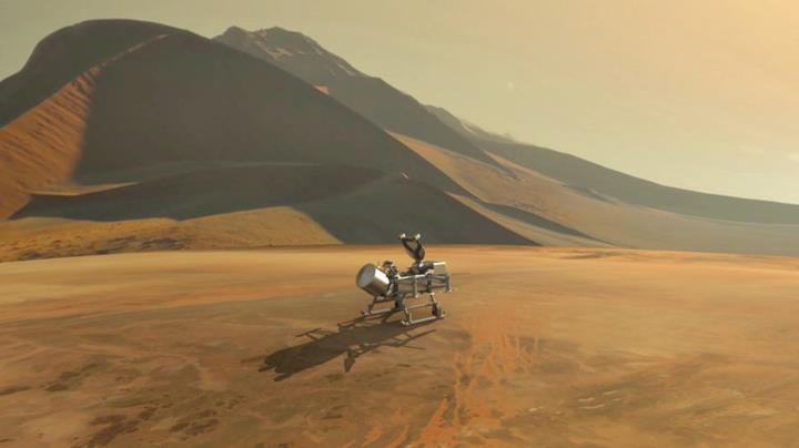 NASA resmen Titan'a gidiyor: 'Gizemli uydu' ilk kez keşfedilecek