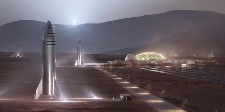 SpaceX, dev roketi Starship için tarih verdi