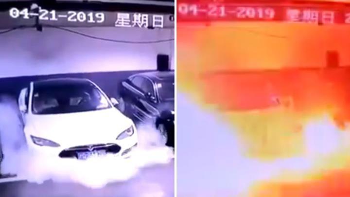 Tesla, Çin'deki Model S'in neden park halindeyken alev aldığını açıkladı