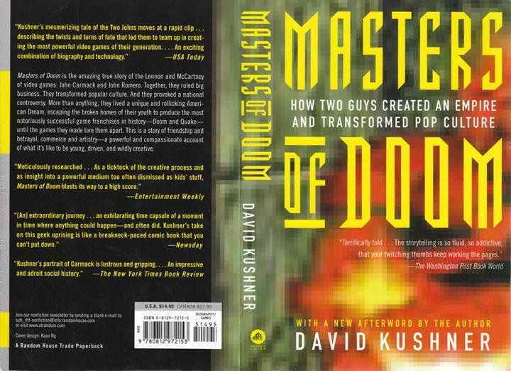 """""""Masters of Doom"""" kitabı dizi oluyor"""