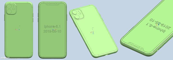 Yeni iPhone'ların CAD görselleri kare kamera modülünü onaylıyor