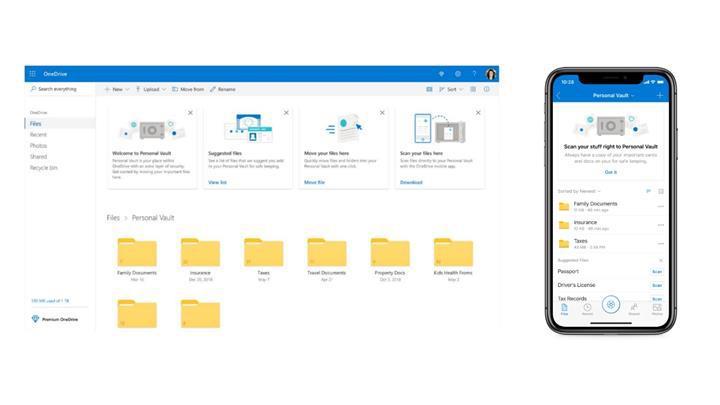 OneDrive Personal Vault duyuruldu