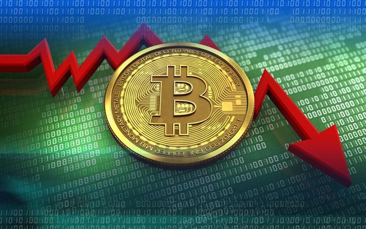 Bitcoin 10,000 doların altında