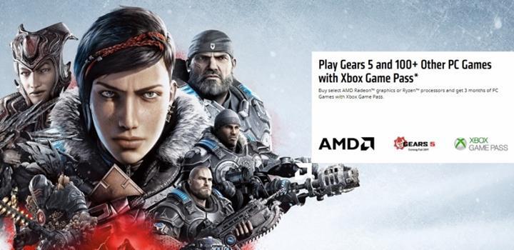 AMD ürünlerine 3 aylık Xbox Game Pass hediyesi başladı