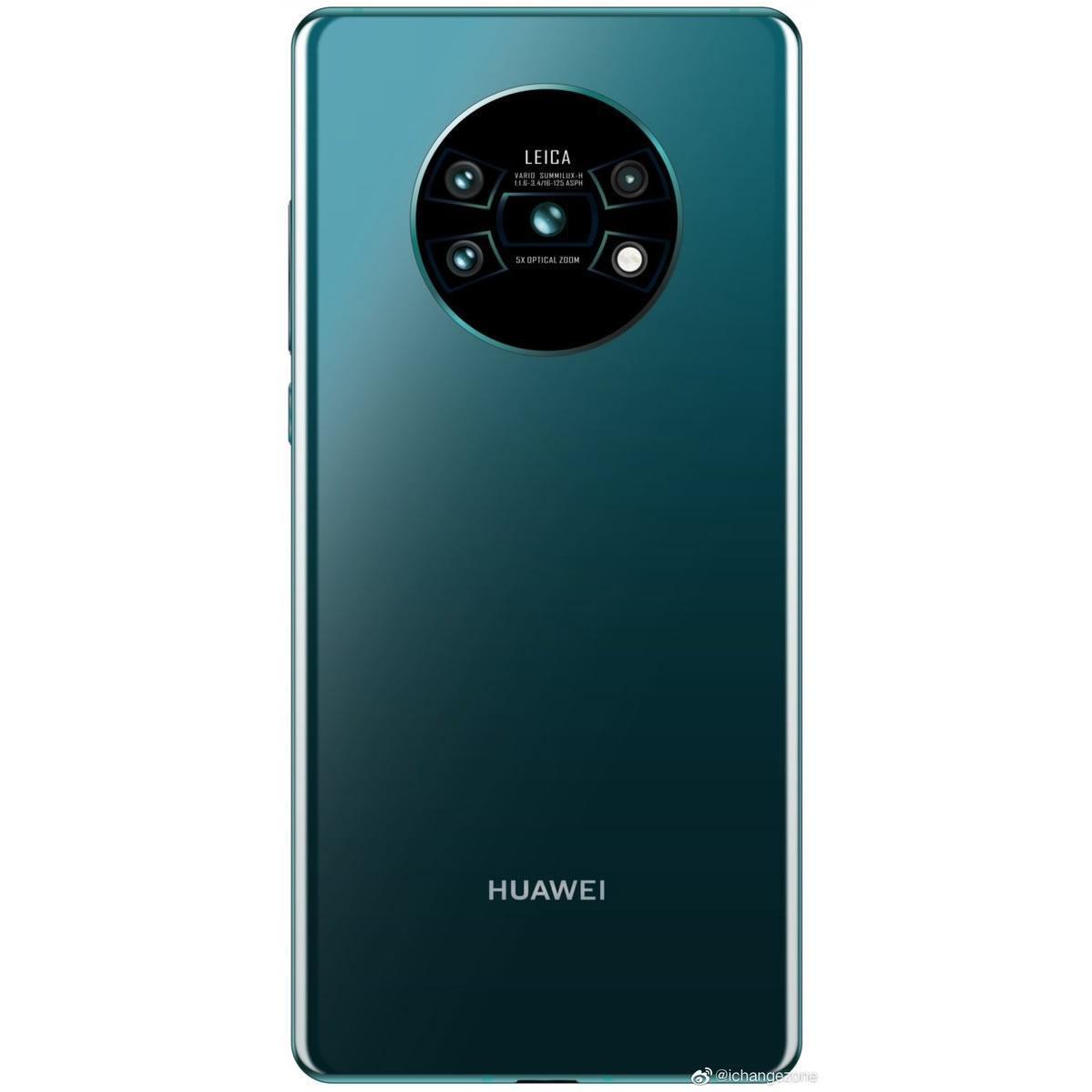 Amiral gemisi Huawei Mate 30 Pro'nun kamera tasarımı ortaya çıktı