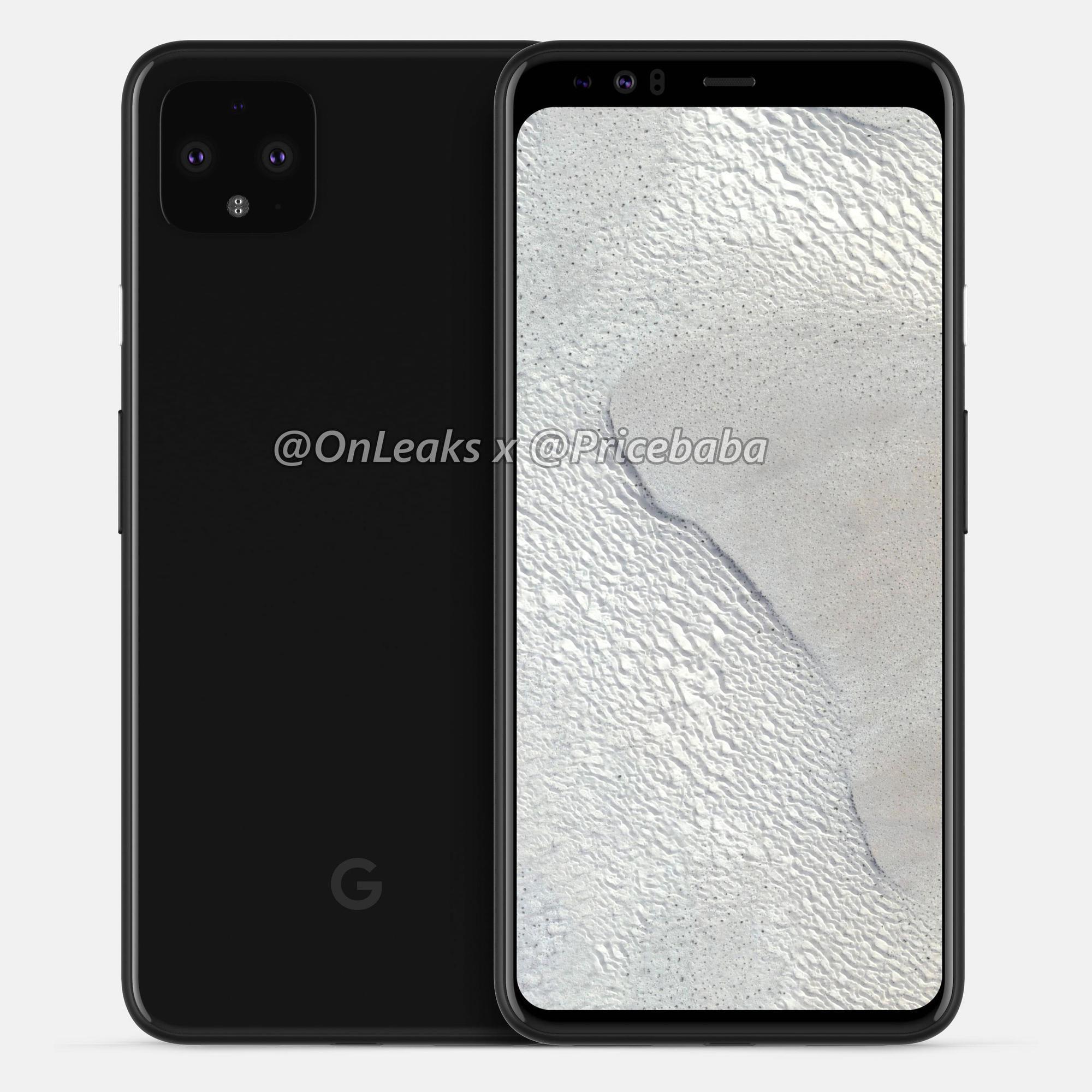Pixel 4 XL'in tasarımını açığa çıkaran görseller yayınlandı
