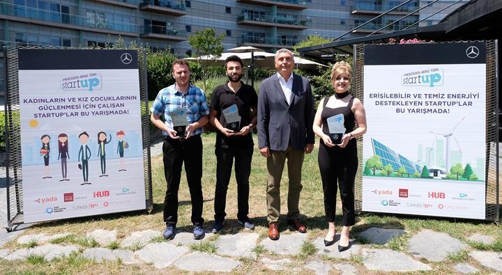 Mercedes-Benz Türk StartUP 2019'un kazananları belli oldu