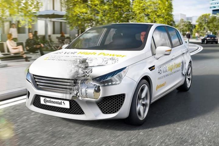 Continental, yakıt tüketimini %20 oranında azaltan 48V hibrit sistem geliştirdi