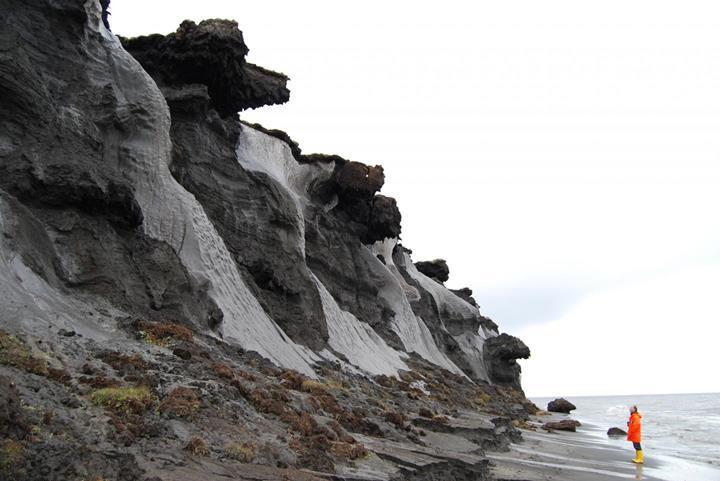 Antik çağlardan kalma donmuş toprağın içinde canlı solucan bulundu