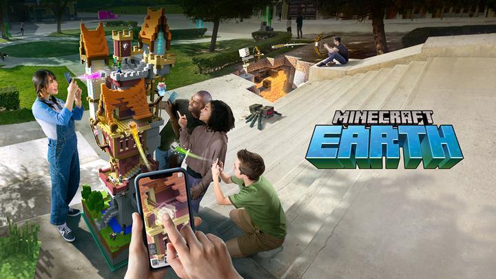 Zengin gerçeklik odaklı Minecraft Earth kapalı betaya başladı