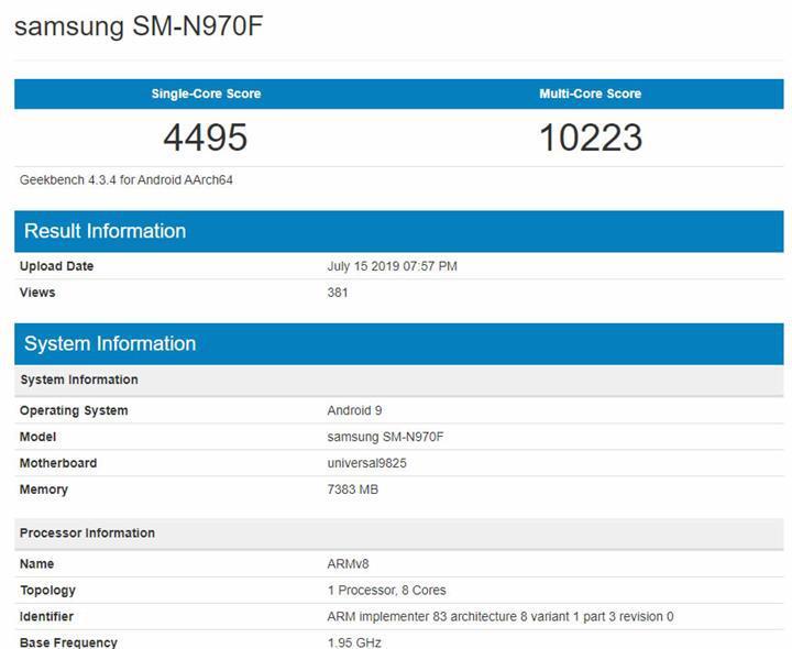 Samsung Galaxy Note 10'a güç verecek Exynos işlemci belli oldu