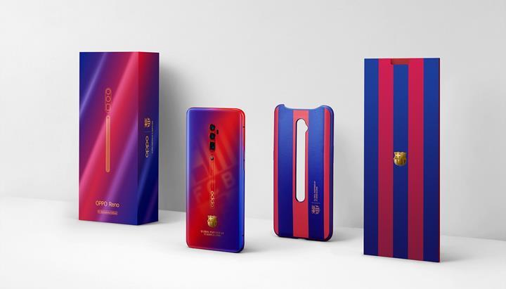 Oppo'dan Barça tasarımlı telefon: Karşınızda Reno 10X Zoom FC Barcelona Edition