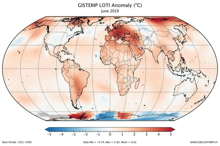 Kayıtlara geçmiş en sıcak Haziran ayını 2019'da yaşadık