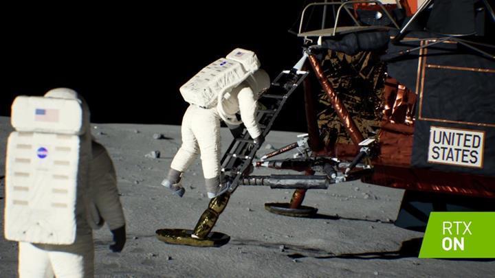 Apollo 11 görevi, NVIDIA'nın ışın izleme teknolojisi ile yeniden hayat buldu