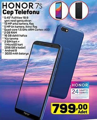 Haftaya A101 marketlerde Honor 7S, BİM marketlerde Redmi Go modeli var