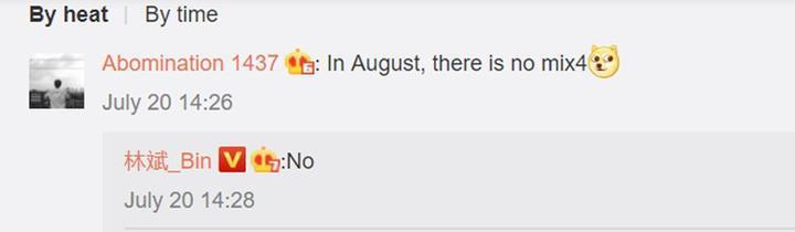 Xiaomi Mi Mix 4'ü bekleyenlere üzücü haber