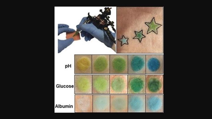 Dövmeler biyobelirteç olarak kullanılabilecek