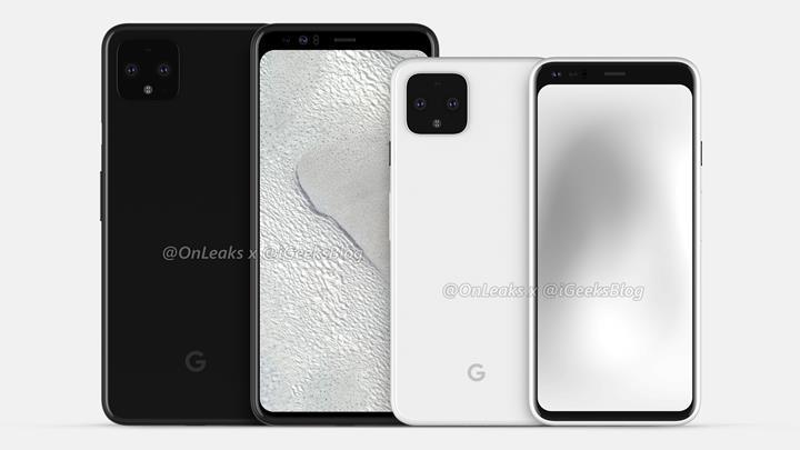 Google Pixel 4'ün yeni görselleri cihazın detaylarını ortaya koyuyor