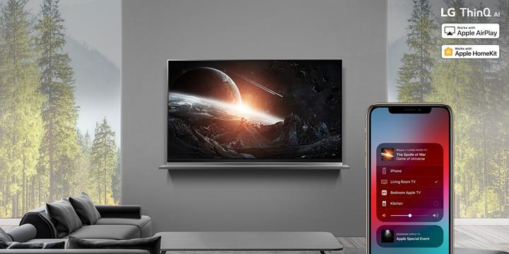 LG'nin 2019 model akıllı TV'lerine HomeKit ve AirPlay 2 desteği geliyor