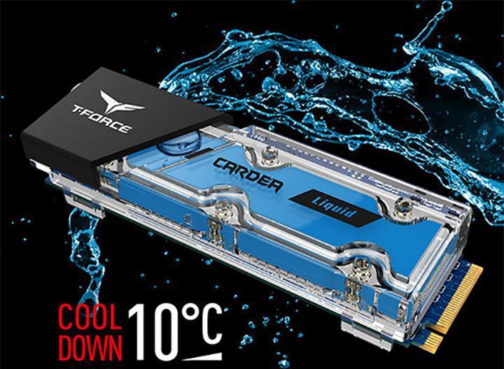 T-Force dünyanın ilk sıvı soğutmalı SSD'sini duyurdu