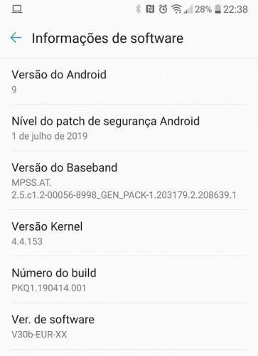 LG V30 için Android Pie güncellemesi yayınlanmaya başladı
