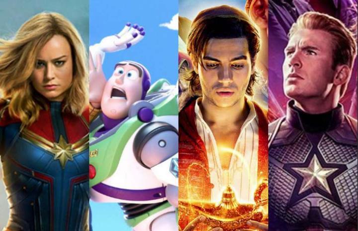 Disney, 2019 yılında gişe rekorlarını altüst etti