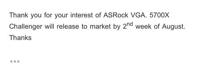 AsRock özelleştirilmiş tasarımlı RX 5700 XT modellerinin tarihini doğruladı