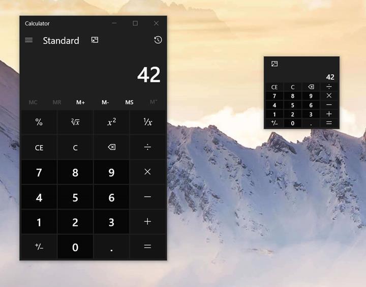 Microsoft, Windows 10 Hesap Makinesi uygulamasına gelen yenilikleri duyurdu