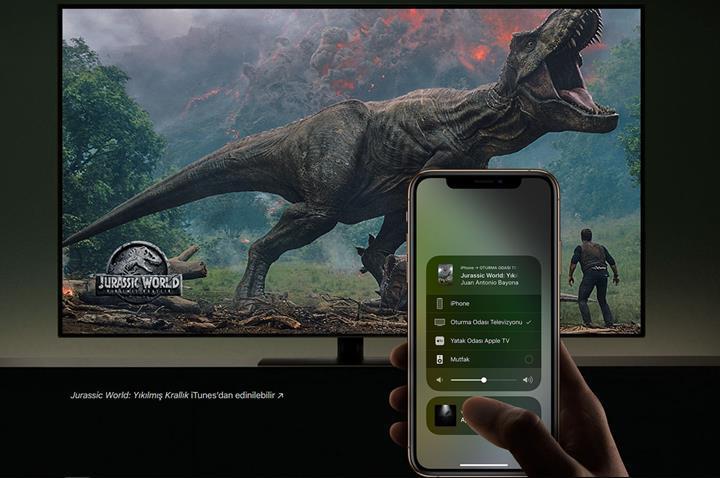 Samsung'un hangi LED TV'lerinde AirPlay ve Apple TV desteği var?