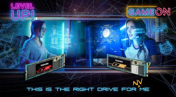 Toshiba oyuncu odaklı RD500 ve RC500 NVMe sürücülerini duyurdu