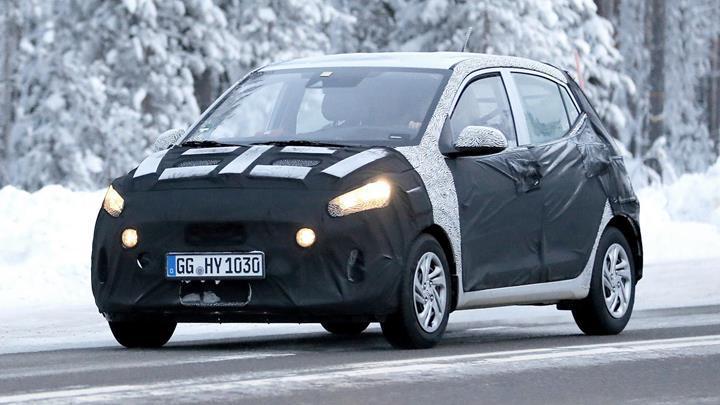 2020 Hyundai i10'un tasarımını gösteren çizim görseli paylaşıldı