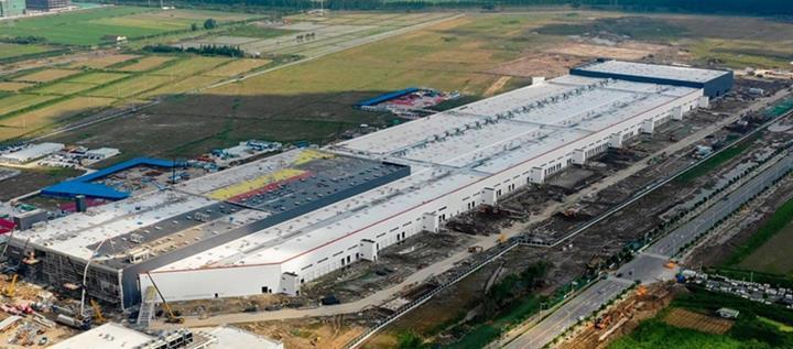 Tesla'nın Çin'deki ilk fabrikası Gigafactory 3'ten yeni görüntüler geldi