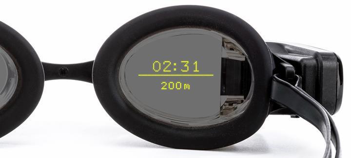 Yüzücüler için ilk giyilebilir cihaz Swim Goggles oldu