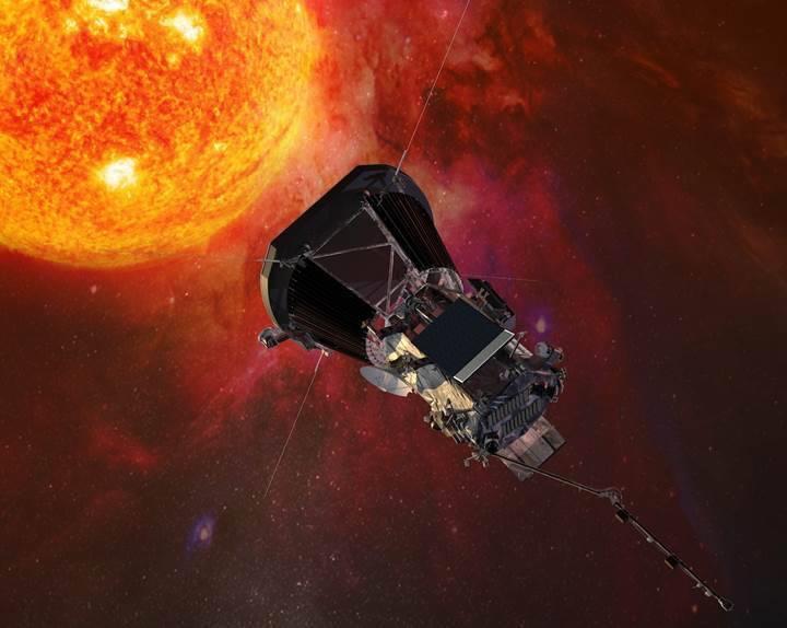 NASA'nın 'Güneş'e fırlattığı' uzay aracı, 22 GB'lık veri gönderdi