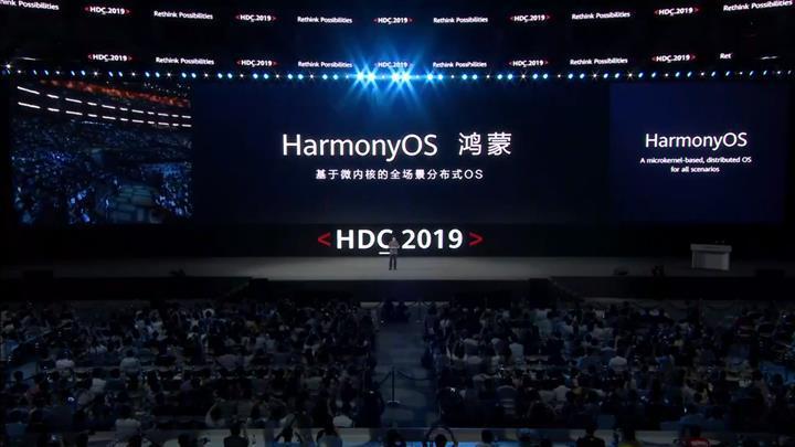 Huawei işletim sistemi HarmonyOS