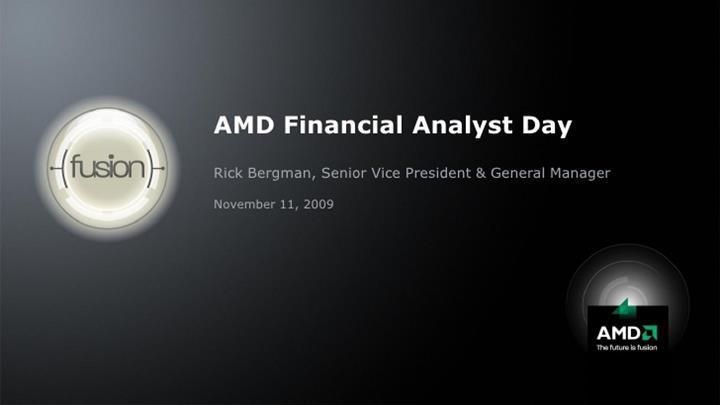 Rick Bergman AMD'ye geri döndü